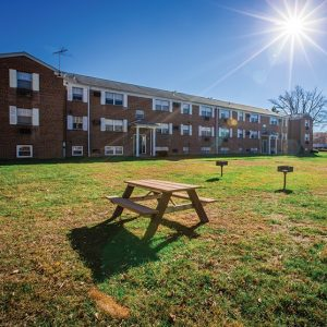 Longview Garden Apartments For Rent in Levittown, PA Building View