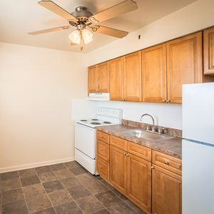 Longview Garden Apartments For Rent in Levittown, PA Kitchen