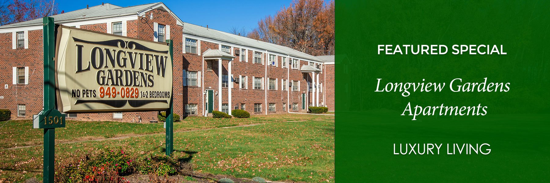 Longview Garden Apartments For Rent in Levittown, PA Specials